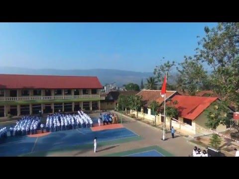 HUT RI 70 di SMKN 1 Cibadak - Aerial Footage
