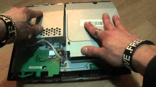 PS3 Red Light Fix (Disassemble) Part 1