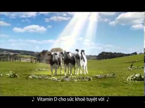 Quảng cáo Sữa Vinamilk mới nhất 2014  Full HD