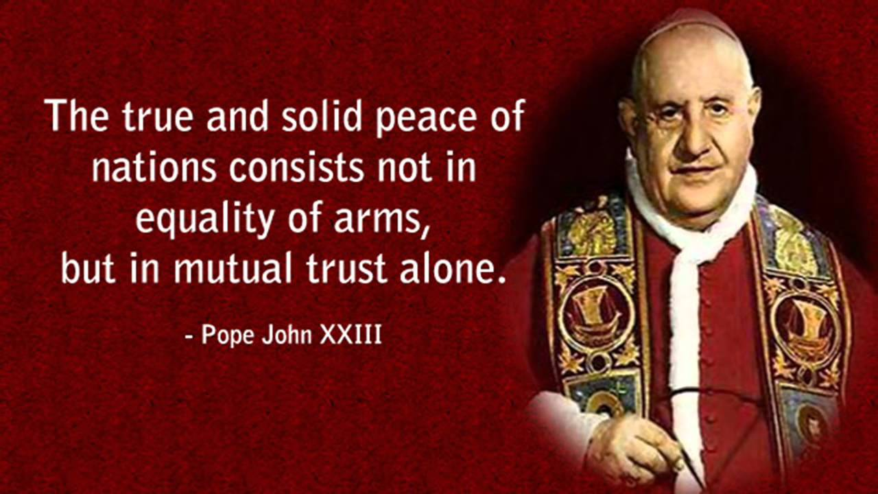 the life of pope john xxiii I found the following document on the internet(wwwtraditiocom) and would like to know how much of it is true pope john xxiii summoned the italian bishops to the roman synod of 1959 as an anticipation of the second vatican council in a massive reaffirmation of traditional practice, the pope.