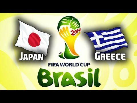 World Cup Brazil 2014 | Japan - Greece | Group C | CZ/SK