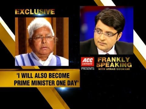 Frankly Speaking with Lalu Prasad - Part 3