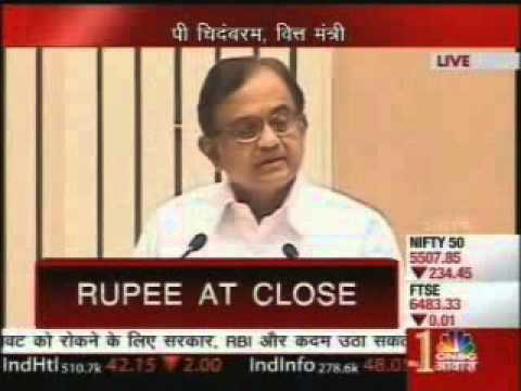 CNBC Awaaz: Finance Minister Mr P Chidambaram unveils the STAR Scheme
