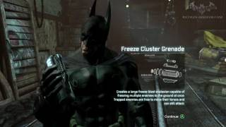 Batman: Arkham City Hot And Cold (Stolen Freeze Tech