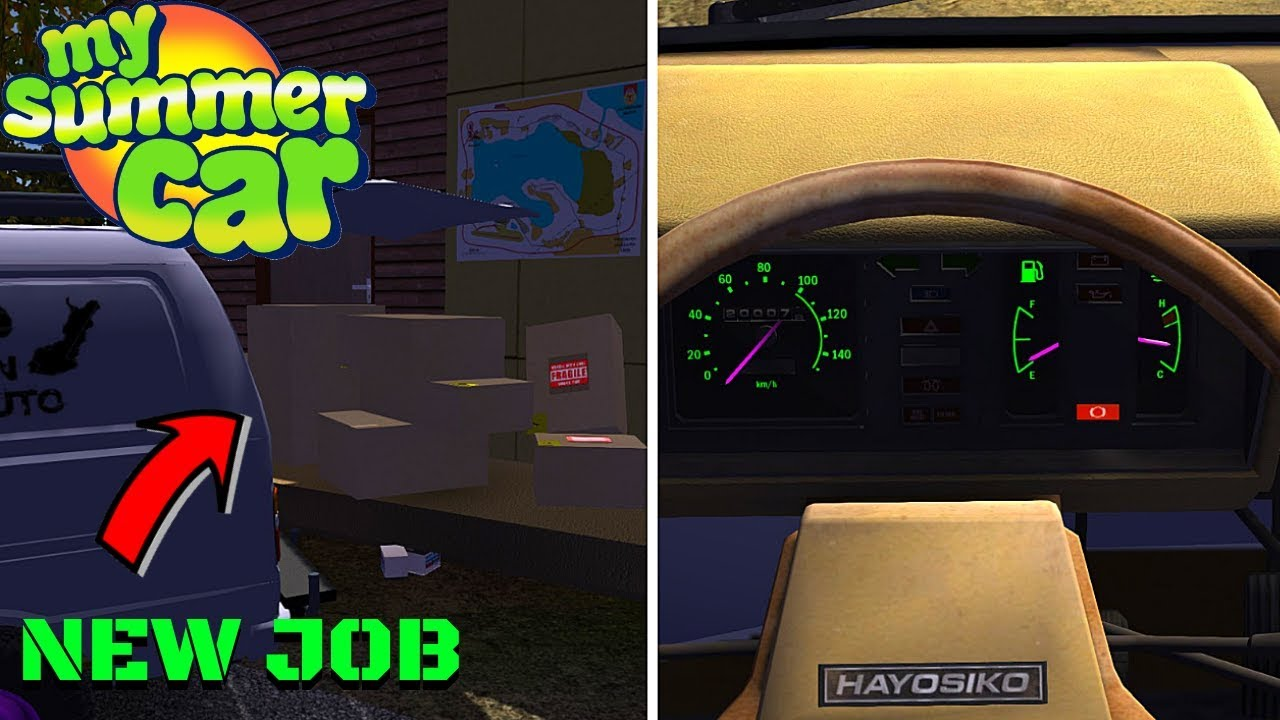 New Delivery Jobs Hayosiko Colorful Gauges My Summer Car 152 Mod