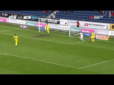 FC Luzern vs Young Boys Bern 3-1 / Raiffeisen Super League / 11.05.2013