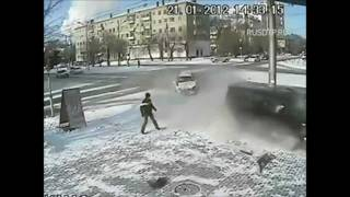 Подборка ДТП с видеорегистраторов 22 \ Car Crash compilation 22