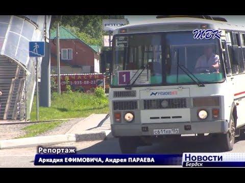 Пассажиры бердских автобусов могут стать пешеходами