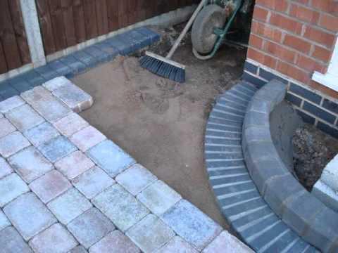 building a driveway with marshalls tegula block paving. Black Bedroom Furniture Sets. Home Design Ideas