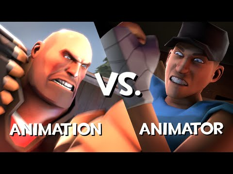 Animácia vs Animátor