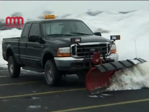 Ford F250 XLT Super-Duty Extended Cab - Snow Plow