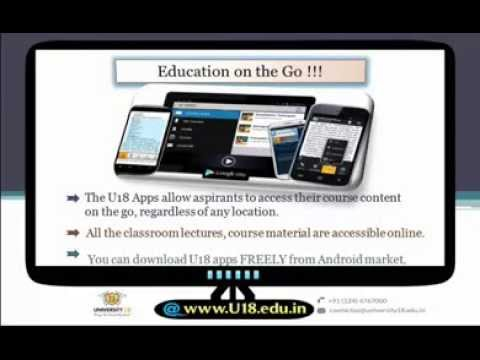 A Guide to Online Degree Courses From U18