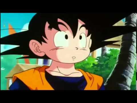 Goku regresa del Otro Mundo y por primera vez conoce a su hijo menor Goten