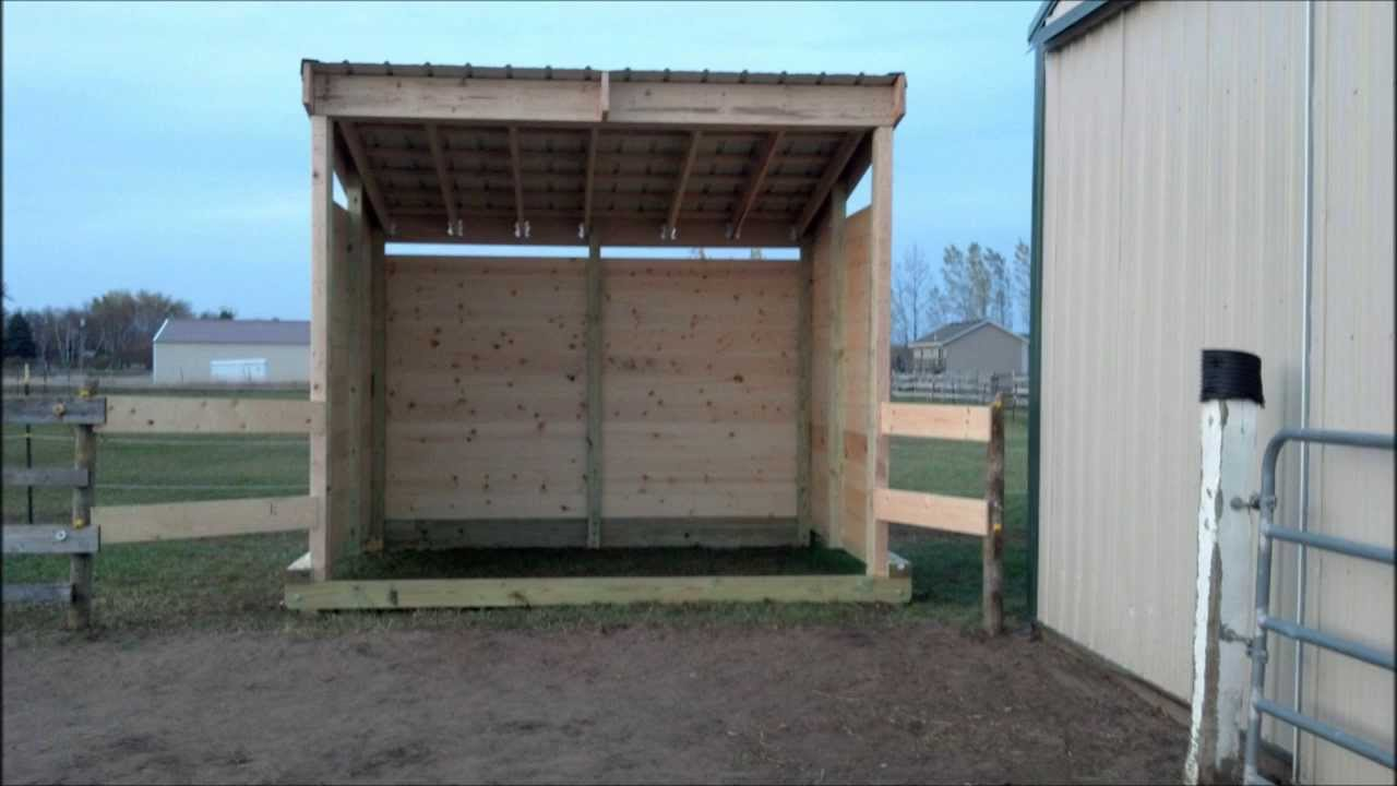 Can I Build A Shed In My Field