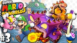 Super Mario 3D World: 2P Co-Op! Bowser Boss PART 3