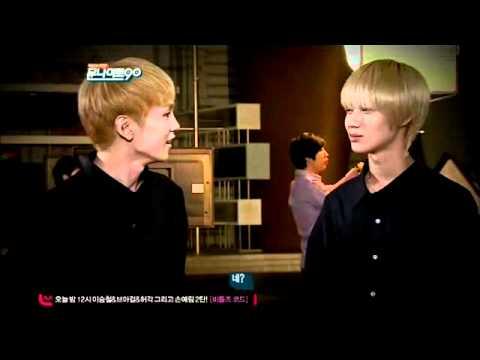 lllO27 So CUTE!! Taemin & Key NG cut @M00N N!GHT 9O