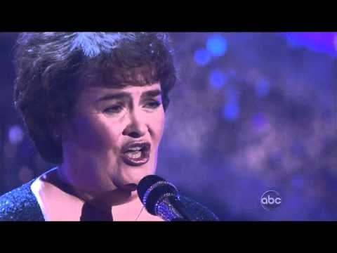Susan Boyle Unchained Melody Live Dancing With The Stars 2011 DWTS Footloose I Dreamed A Dream Song