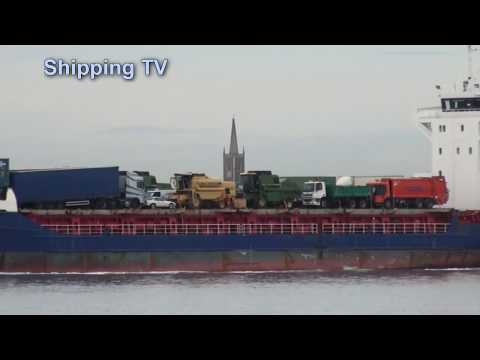 Local Shipping: Maersk Eubank and others, 8th November, 2013