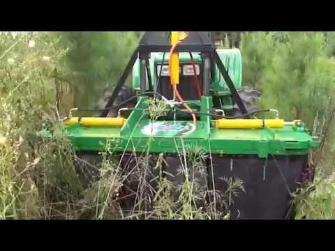 Aplicador de Herbicidas Crocodilo Frontal