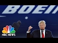 President Donald Trump Talks Post-Election 'Surge' In Jobs, Business At Boeing Unveiling | NBC News