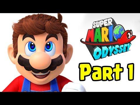 Super Mario ODYSSEY: Co-Op GamePlay - Part 1