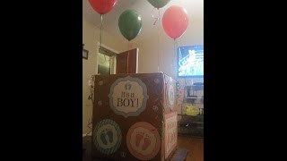 Gender Reveal baby #6 on Christmas Day 2014