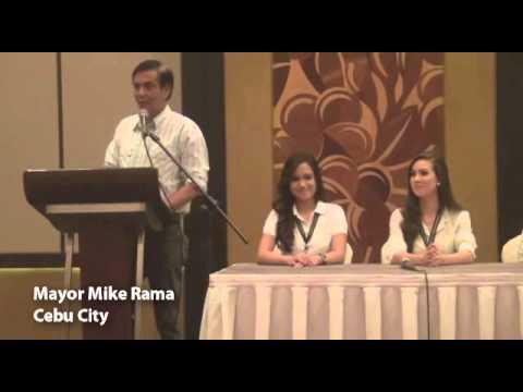 Miss Cebu 2014 presentation of candidates