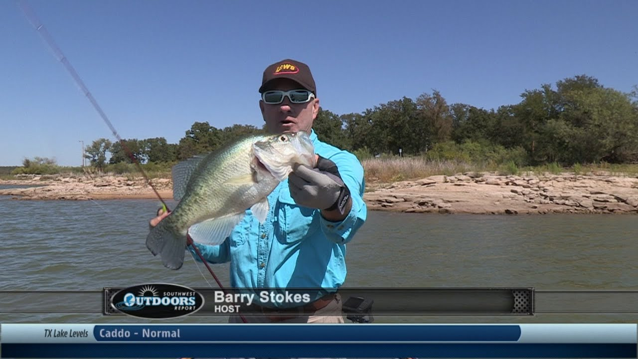 Southwest outdoors report 30 lake graham eddleman texas for Texas fishing reports