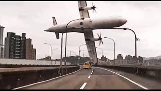 Accidente a�reo TransAsia Airways en Taiwan