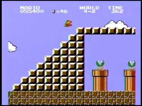 Super Mario Bros. Speed Run - 4:58! World Record!!!
