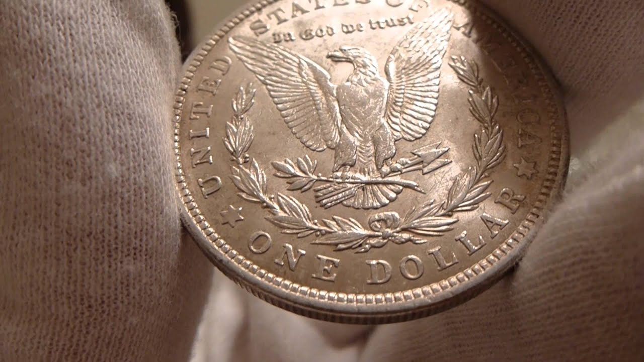 1921 Morgan Silver Dollar Coin Review Youtube