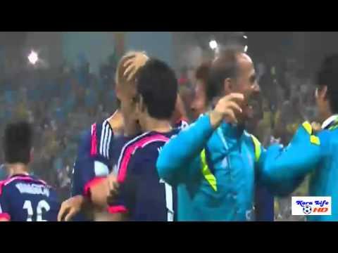 اهداف  مباراة اليابان وكوت ديفوار - Cote d'Ivoire 2 - Japan 1 - World Cup 2014