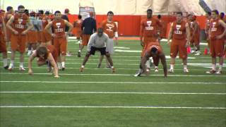 Football's off-season conditioning program [Feb. 28, 2014]