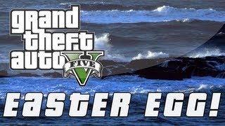 "Grand Theft Auto 5 ""Dead Body Underwater"" Easter Egg"