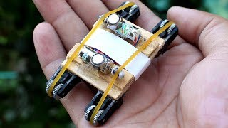 How To Make a Mini Electric Car from Lighters (SUPER FAST)
