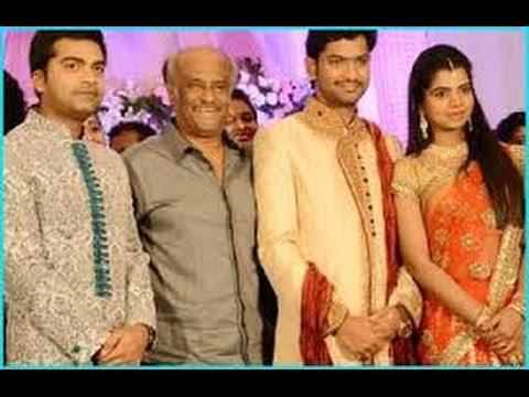 ... celebrities attended Simbu Sister T.R. Ilakiya's wedding reception