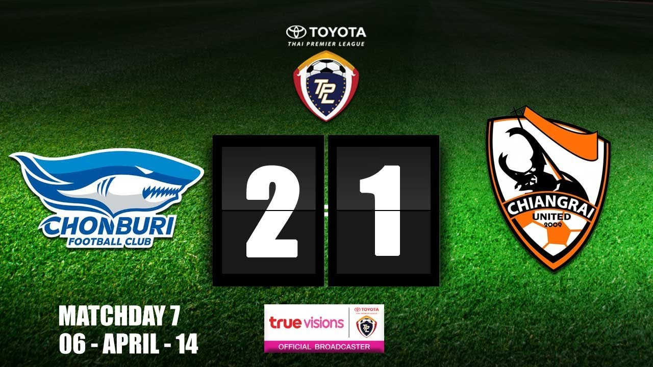 Chonburi Shark FC 2-1 Chiangrai United