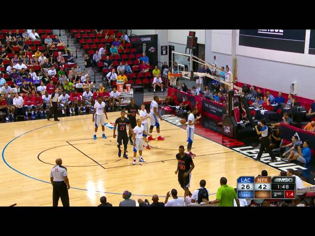 Los Angeles Clippers vs New York Knicks Summer League Recap