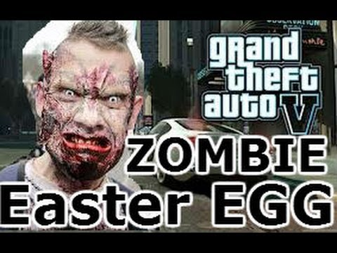 GTA 5 Easter Eggs: Zombie Easter Egg! (Grand Theft Auto V Gameplay)