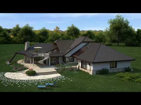 Projekty Z500 - projekt domu Zr1