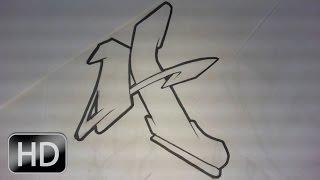 GRAFFITI ALPHABET N°5 : Lettre Par Lettre Complex & Flow