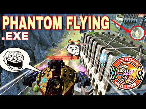 PHANTOM .EXE (WAR ROBOTS PHANTOM IS FLYING )FUNNY VIDEOS