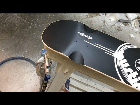 Building A Custom Longboard by Bustin Boards Company