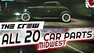 The Crew All Hidden Car Part Locations MIDWEST