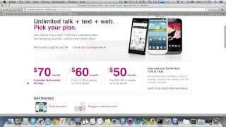 Get $30 T-Mobile Plan With Unlimited Data (5GB) And Text