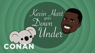 "Kevin Hart In ""Kevin Hart Goes Down Under""  - CONAN on TBS"