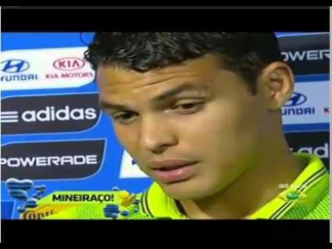 thiago silva tenta explicar a humilhação do brasil na fifa world cup
