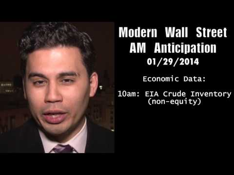 Modern Wall Street AM Anticipation: January 29, 2014