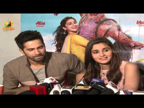 Varun Dhawan, I want a wife like Alia Bhatt @ Humpty Sharma Ki Dulhania - Bollywood Updates