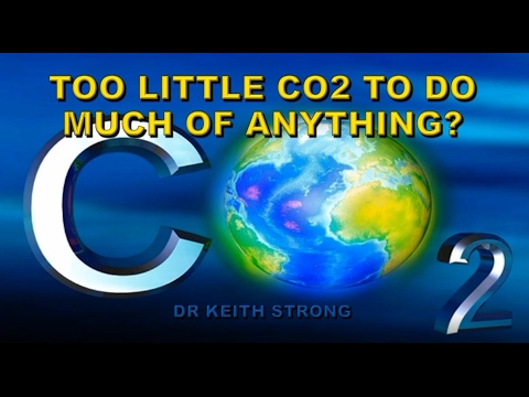 TOO LITTLE CO2 IN THE AIR TO DO MUCH OF ANYTHING?